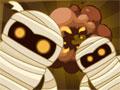 Mummy Blaster - Encontre o tesouro perdido nesse jogo. Diversas múmias apareceram para impedir sua missão, use explosivos para detona-lás mas tenha cuidado pois são limitadas então pense bem qual será o melhor momento para usar.