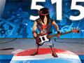 Jogo - Music Challenge, Sinta-se como um Rei do Rock que você mais admira e jogue com ele os seus sucessos preferido. Sua missão é seguir o ritmo das músicas corretamente e ser um verdadeiro roqueiro. Divirta-se com este game que tem bastante semelhança com o clássico Guitar Hero.