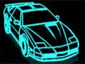 Pilote um carro neon pelas ruas da cidade. Desvie pelo caminho dos veículos roxos e os vermelhos bata escolhendo os itens, faça isso em menor tempo para liberar novos níveis e upgrades.