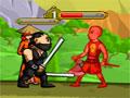 Ninja And Blind Girls 2 - Use a magia para defender a garota cega. Utilize os poderes disponíveis, lute com cada adversário mostrando toda a sua habilidade e depois de cada vitória faça um upgrade.
