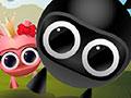 Ninja Land - Ajude o pequeno ninja resgatar a princesa. Mostre sua habilidade e inteligência para completar sua missão, analise as possibilidades antes de qualquer ação nesse jogo.
