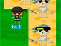 Ninjas Vs Pirates TD3 - Piratas pretendem invadir o seu território. Posicione os melhores ninja que há no inventário para derrotá-los, seja esperto e acabe com eles antes que cheguem perto do portão.