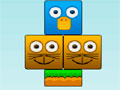 Odd Ducks - Retire os blocos de gatos pelo cenário. Sua tarefa é salvar os patos e exterminar os restos, tenha cuidado para não deixar eles caírem nos obstáculos de cada fase.