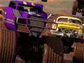 Offroaders - Pilote um monster em diversar pistas incríveis. Controle seu carro e recolha o dinheiro pelo camiho para fazer um upgrade e desbloquear novos veículos.