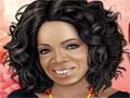 Escolha um visual para apresentadora de TV Oprah Winfrey. Você tem que maquia-la, penteá-la e escolher sua roupa para seu programa, Seja criativa deixando ela muito bonita.