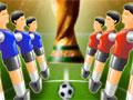 Jogo - Own Goal World Cup 2010, Venha ser o mais novo campeão da copa do mundo 2010 na modalidade pebolim, escolha a sua seleção e faça muitos gols. Elimine todos os seus adversários em cada rodada até chegar na grande final. Preste atenção nas jogadas e tome Cuidado para que seus jogadores não marquem gol contra.