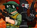 Paintball War - Encare o desafio no paintball e mostre toda a sua habilidade. Ande por toda a floresta a procura dos inimigos, fique atento com todos os lados para não ser pego de surpresa.