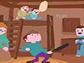 Pan Man - Coloque em pratica todas as suas habilidades ao preparar panquecas. Ajude o homem no manuseio da frigideira, vire a massa no momento exato e evite deixar queimar.