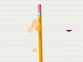 Em Pencylvania seu objetivo é equilibrar o lápis e tomar muito cuidado com os morcegos que fica voando, passe diversos níveis e acumule muitos pontos.
