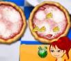 Monte um pizza igualzinho a do chefe pizzaiolo, você tem pouco tempo para montar a pizza, então seja rápido.