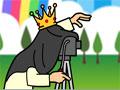 Jogo Photo King, um game no estilo do Nintendo Wii, um Rei resolveu tirar fotos de muitos personagens e em diversos cenários, seu objetivo é ajudar ele a conseguir um belo sorriso de todos para que o rei possa ganhar muito dinheiro, divirta-se!