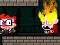 Photon Baby - Ande pelas plataformas detonando os monstros. Mire e atire bolas de fogo contra os inimigos, fique atento na cor de suas roupas com as paredes para seguir corretamente.