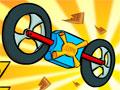 Physicar - Pilote seu veículo novo com muito cuidado. Colete todas as estrelas pelo caminho, sua missão é chegar o rápido possível no final de cada pista e desvie dos obstáculos.