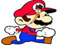 Neste jogo, pinte o Mario com a sua devida cor, ou invente novas cores para ver como o Super Mario Bros ficaria, Seja criativo!