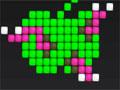Jogo Pixus, Faça a sua linha em formas e com as cores correspondentes para eliminar as peças do jogo, seja rápido pois elas irão se desmanchar com o tempo, divirta-se!