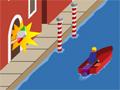Que tal um jogo de entregar pizzas? e com uma condição, agora você tem que entregar as pizzas de barco em um rio cheio de obstáculos, pule pelas rampas e fazendo as entregas nos devidos lugares certos para ganhar pontos.