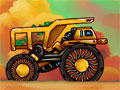 Jogo - Planet Trucker, Você está dirigindo um caminhão de carga, tendo que fazer todo o transporte de forma intacta para o cliente. Mas infelizmente existe muitos obstáculos pelo caminho para lhe impedir de completar sua missão, tome cuidado para não deixar os pacotes cair e atrapalhar de prosseguir no jogo.