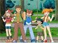 Com os personagens do desenho animado Pokemon, você pode criar diversos cenários com incríveis imagens, divirta-se com este joguinho.