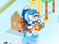 Polar Bob - Ajude o urso polar a salvar a princesa. Salte e voe pelo céu para ir bem longe, acabe com inimigos pinguins assim você pegará impulso.