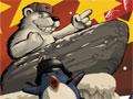Jogo Online - Polar PWND, Analise bem todo o game e prepare o cenário para lançar o Urso até os pinguins. Coloque tudo que for preciso para conduzir o personagem, entre os objetos disponíveis você pode usar as rampas, trampolins, bombas, minas, etc... Teste seu raciocínio e caso tenha dificuldade, acompanhe os tutoriais do próprio jogo.