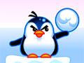 Polar Trouble - Ajude os pinguins se livrarem das morsas. Mire e atire bolas de neve no alvo, seja preciso para não errar e completar cada fase.