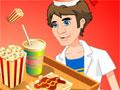 Jogo Online - Popcorn Booth, Você é o novo contratado de um movimentado quiosque de fast-food de um cinema. Sua missão é mostrar eficiência em seu atendimento e servir todos os clientes com total qualidade e atenção. Deixe todos satisfeitos!