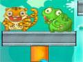 Porcupyre - Ajude os porcos espinho a se livrar dos inimigos. Coloque fogo sobre as plataformas para que eles queime, tendo cuidado para não atingir o alvo errado.