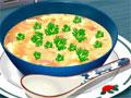 Potato Soup - Sara resolveu dar uma aulinha muito saborosa, sopa de batata. Siga as instruções corretamente respeitando o tempo de preparo, quanto mais ágil for mais pontos bônus ganha.