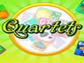 Quartets - Colete o maior número de cartas em cada jogada. Peça para os jogadores da mesa um cartão e forme um conjunto de quatro, não erre para continuar no jogo.