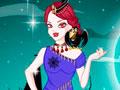 Queen Of Vampire - Escolha um look de arrasar para a rainha vampira. Ela tem um encontro e precisa estar linda, combine cada item e acessório como modelito.