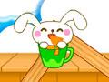Rabbit Eats Carrot - Use o raciocínio para alimentar o coelho. Com a ajuda da tesoura corte os obstáculos para que a cenoura caia pegando todas as estrelas e chegando ao seu destino.