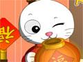 Rabbit Lighting - Ajude o coelho acender as lanternas da decoração chinesa. Mire sobre os alvos antes que a barra acabe, tenha uma boa mira pois seu tiros são limitados em cada fase.