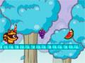 RaccBeat - Ajude o guaxinim guloso a pegar suas frutas. Ande pelas plataformas salte sobre os obstáculos e recolha todos os frutos possíveis há cada nível.