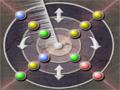 Faça combinações de cores em uma das linhas que estão no circulo para conseguir marcar pontos, complete vários níveis.