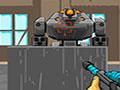 Rambo Robot War - Encare uma guerra contra os robôs. Mire e atire nos alvos antes que seja tarde demais, evite que a Terra seja destruída pelos inimigos robóticos, extermine um por um.
