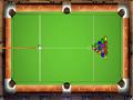 Jogo de Sinuca Online, para vencer seu objetivo é encaçapar as bolas nos buracos, desafie seu adversário, divirta-se com mais este jogo de sinuca Real Pool.