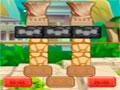 Rebuild The Temple - Você tem que reconstruir um dos templos de Roma. Clique sobre os blocos para remover e deixar abaixo da marca pontilhada, tenha cuidado pois uma peça tirada precipitadamente poderá ocorrer um desmoronamento.