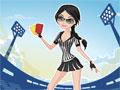 Jogo Referee Girl, Nossa amiga ju�za de futebol esta precisando da sua ajuda para escolher o melhor vestimento, pois ela precisa de toda a aten��o quando for solicitado em campo, sera que ela ir� conseguir?