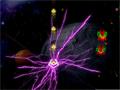 Um nogo jogo de naves com diversos efeitos de luz e cores, elimine todos os seus inimigos e obstáculos que estiver no espaço, faça muitos pontos para entrar no Ranking do Jogo, e ainda divirta-se com muita música eletrônica.