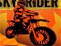 Faça diversas manobras perigosas enquanto a moto esta no ar, passe sobre os obstáculos e ganhe pontos.