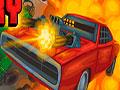 Road Of Fury - Enfrente os seus inimigos em mais uma batalha. Sua missão é chegar até o final da estrada cheia de emboscadas e repleto de perigo, atire nos oponentes e sobreviva o maior tempo que conseguir, marque muitos pontos.