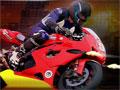 Jogo Roadster, Pilote uma moto super poderosa, sua missão é desviar de todos os carros e obstáculos que estiver em sua frente, atire em todos os inimigos que chegar perto de você, preste muita atenção ao pilotar essa moto.