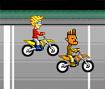 Compre equipamentos e não pare de acelera nessa corrida de motos!