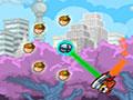 Rocket Squirrel - Ajude o pequeno esquilo recolher as nozes. Use o seu foguete para alcançar seus objetivos, seja cuidadoso ao se prender nos objetos do cenário e depois se soltar para escapar.