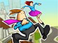 Rooftop Runner, entre nesta aventura, passe por telhados, recolhe todo o dinheiro que conseguir e complete todos os níveis no menor tempo possivel, divirta-se!