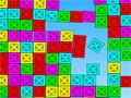 Samephysics é um jogo aonde você precisa eliminar todas as caixas que possuem as mesmas cores, quando não tiver combinações você pode escolher a opção do jogo