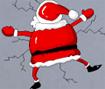 Ajude o papai noel a entregar os presentes na noite de natal, seu objetivo e jogar os presentes no momento certo para que eles caiam no lugar certo!