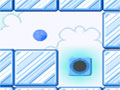 Jogo Scramball, No controle de uma pequena bola Azul, sua missão neste game é passar por diversos desafios espalhados pelos níveis, seu destino é o portal que abre a passagem para o próximo estagio deste jogo, tome muito cuidado com as armadilhas espalhadas pelo cenário, teste suas habilidades e acumule pontos.