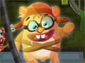 Jogo Sewer Escape, Um hamster de experiencias químicas esta totalmente insatisfeito em ser apenas um experimento de laboratório. Sua missão neste game é ajuda-lo a escapar deste local cheio de sujeiras, aperte a alavanca para ejetá-lo o mais longe possível, recolha os itens bônus e acumule muitos pontos.