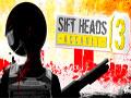 Sift Heads Assault 3 - Vinnie está de volta com muito mais ação. Tente sobreviver o maior tempo possível, enfrentando novos desafios, novas armas e ganhe muito dinheiro vencendo os inimigos.